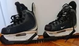Patins hockey de gelo, infantil