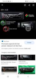 Tocador CD Play Pioneer  DEH-3UB  $150