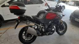 Suzuki VStrom 1000 ABS vd ou tc por Harley Dyna