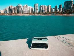 Olivetti em metal Maquina de escrever antiga - antiguidade