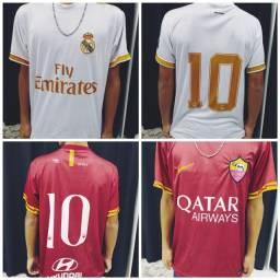 Camiseta de Clube - Europeus e nacionais -Mega promoção - Seja um revendedor