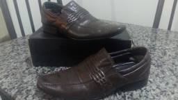 Sapato Social Masculino em Couro Legítimo