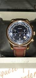 Relógio Guess pulseira de couro