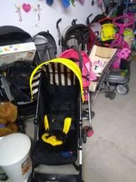 Carrinho cadeira carro andador brinquedos Brechó infantil