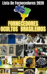 Lista de fornecedores brasileiros