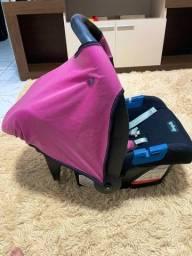 Título do anúncio: Bebê conforto Burigotto Touring Evolution SE Rosa