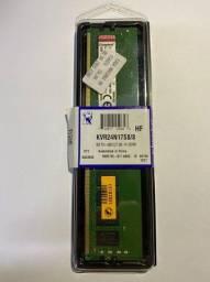 Memória Ram 8GB - 2400mhz KingSton Desktop
