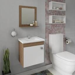 Título do anúncio: Gabinete para Banheiro com Pia e Espelheira Íris - Mgm Móveis