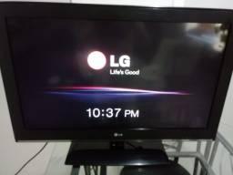TV LG 32 POLEGADAS CONVERSOR INTEGRADO+CONTROLE ORIGINAL LG 100% PARCELO