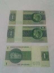 Nota de $1real antiga