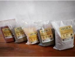 Título do anúncio: Argila Natural 1kg