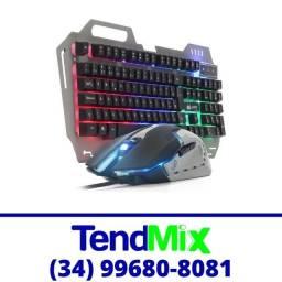 Título do anúncio: Kit Teclado + Mouse Gamer c/ Led