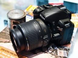 Título do anúncio: Nikon D3100 DSLR cor preto