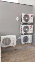 Instalação  de ar condicionado Split com um ano de garantia