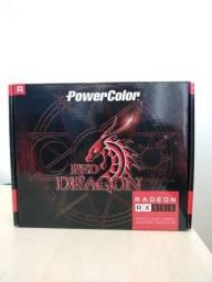 Placa De Vídeo Amd Powercolor Red Dragon Radeon Rx500 Series
