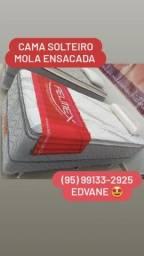 Título do anúncio: Cama SOLTEIRO MOLA ENSACADA - ENTREGA GRÁTIS no mesmo dia do Pedido