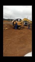 Mini escavadeira LiuGong 8T