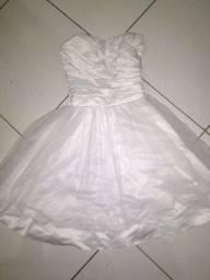 Título do anúncio: Vestido de festa branco