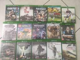 Games originais Xbox One em mídia física