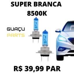 Super Brancas 8500k 55w Par de Lâmpadas