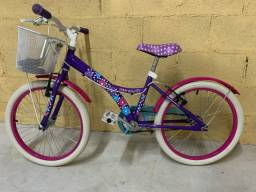 Bicicleta aro 20, semi nova