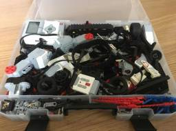 Lego Mindstorms Ev3+ Giroscópio E Ultrassônico Led Education