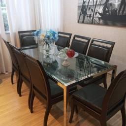 Título do anúncio: Mesa de jantar com 8 cadeiras