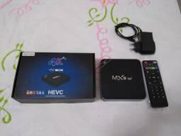 Tv box mx9 5g seminovo