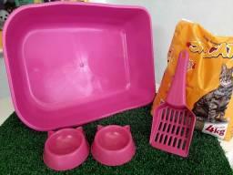 Kit higiênico para gatos