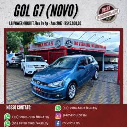 VW - VolksWagen Gol (novo) 1.6 Power/Highi T.Flex 8v 4P 2017 Flex