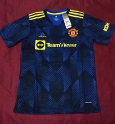 Título do anúncio: Camisa Manchester United 21/22 azul