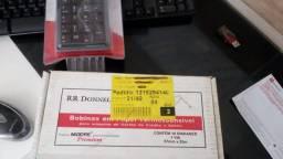 Bobina Papel Relógio De Ponto Maquina Cartão 57mmx25m