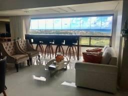 Título do anúncio: Excelente apartamento decorado, vista mar, nascente com 276 m² 4 vagas em Patamares - Salv