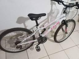 Título do anúncio: Bicicleta aro 24 caloi quadro ceci