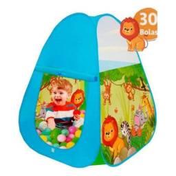 Barraca infantil com 30 bolinhas