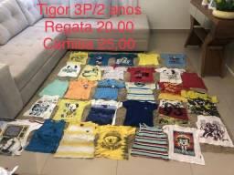 Camisas e camisetas da marca Tigor