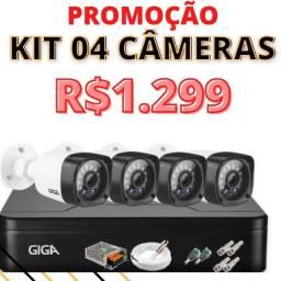 câmeras de segurança promoção