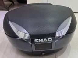 Título do anúncio: Baú Shad Sh48 Grafite/carbon com Encosto e Base Universal Inclusos
