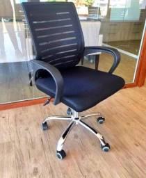 Título do anúncio: Cadeira giratória com regulagem de altura - NOVA (Últimas unidades)
