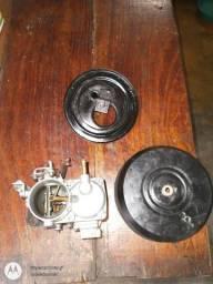 Vendo  Carburador semi novo MQ 0676 DE FUSCA c/ base e suporte do filtro completo