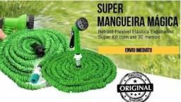 MANGUEIRA MÁGICA EXPANSÍVEL/RETRÁTIL 15m com Gatilho 7 em 1