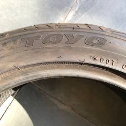 1 pneu 255/45 - R17 meia vida