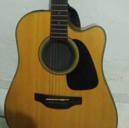 Título do anúncio: Vendo violão Profissional Takamine