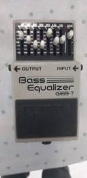 Pedal eq boss bass