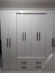 Guarda roupa 8 portas branco