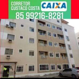Apartamento com área espaçosa por 180 mil. GC