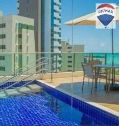 Título do anúncio: Apartamento com 1 dormitório para alugar, 28 m² por R$ 2.550/mês - Boa Viagem - Recife/PE