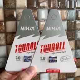 Micro SD Mixza 64 / 128 ou 256 Gigas Original class 10