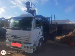 Vendo Caminhão Mercedes Florestal Completo