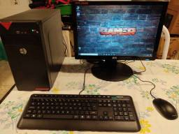"Pc Gamer i5 Monitor 19"" 8gb de RAM ""Novo"""